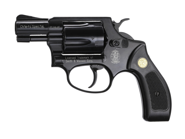Smith & Wesson Chiefs Special Kal.9mmK brüniert